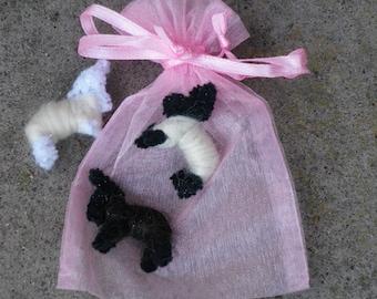 Wishing Sheep in organza bag