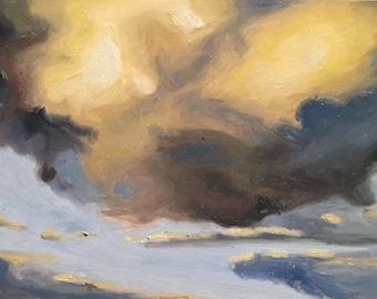 Clouds 8 -Cloudscape Prints -Realism Art Print - Clouds Art Prints - Clouds Fine Art -Blue Cloud Art - Sky Fine Art - Sky Art Print