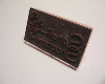 Custom Rubber Stamp with your design