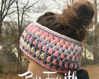 Ear Warmer - Custom Color - Crochet Ear Warmer - Crochet Headband - Women's Accessories - Stocking Stuffers - Gifts For Her