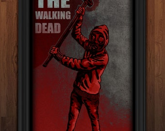 The Walking Dead Maxi Poster - comic style axe