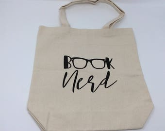 REDUCED PRICE, Tote Bag, Library Bag, Teacher Gift, Book Nerd