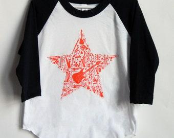 Music Star Instrument Boys and Girls Shirt