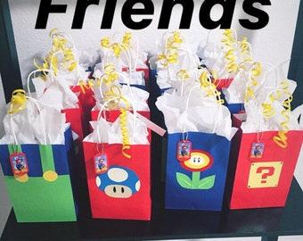 Favor Bags - Mario & Friends