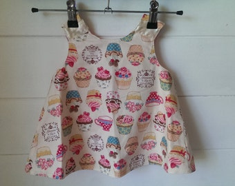 Cup Cake Wrap Top