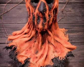 "Scarecrow mask, ""TREAT"""