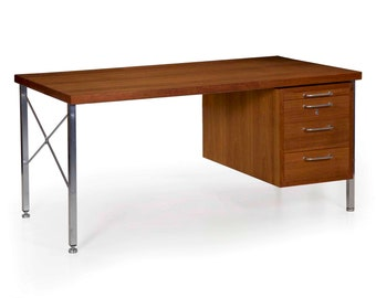 Hans Wegner Desk / Mid Century Modern / Danish Writing Table / Circa 1960s MCM / Model A164