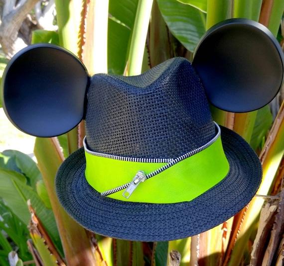 KIDS-Kids Disney Hat. Mickey Ears. Childrens Mickey Mouse Hat. Original Disneyland Hat. Mickey Mouse Ears. Custom Disney Hat.