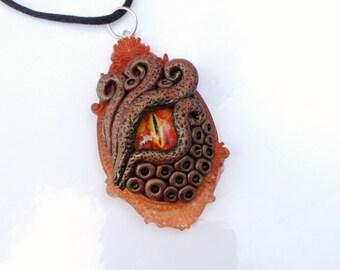 Dragon eye necklace, dragon eye pendant, dragon eye, dragon fire, dragon jewelry, original necklaces