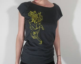 Bamboo T Shirt, Bamboo T-shirt, Earth Day Shirt, Eco Friendly Gift, Women Clothing, Ethical Clothing, Ethical T Shirt, Gift Vegetarian