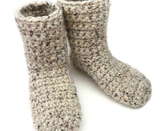 Slipper Booties (9 Sizes) - PDF Crochet Pattern - Instant Download