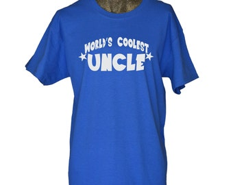 Uncle Shirt Worlds Coolest Uncle T shirt Best Uncle Shirt Gift for Uncle