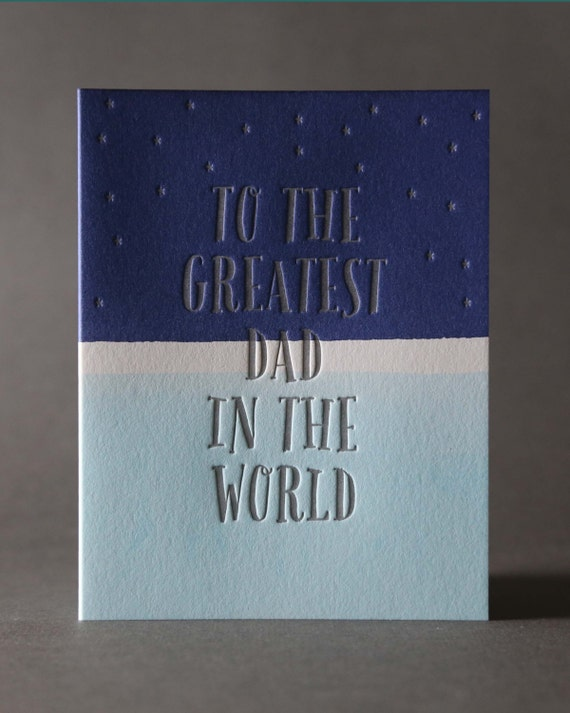 """Dip Dye """"Greatest Dad in the World"""""""
