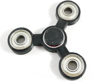 Spinner Fidget Toy EDC Hand Finger Spinner Desk Focus Tri Spinner Big One Hand