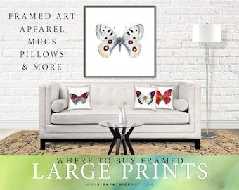 LARGE Prints, FRAMED Prints, & Home DECOR Items - Where to buy only. Read description, do not buy this listing.