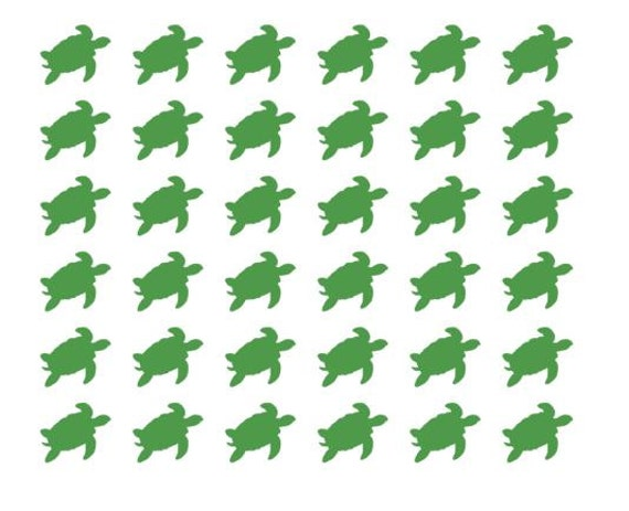 Turtle tan decals tanning stickers tanning bed stickers