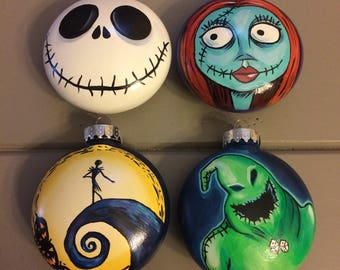 The Nightmare Before Christmas Ornaments