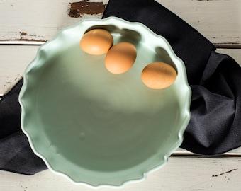 Green Quiche Dish