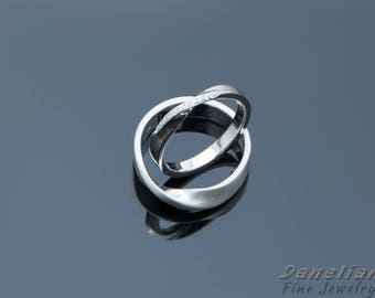 rings dp couple wedding zircon pieces women girlz white men and for