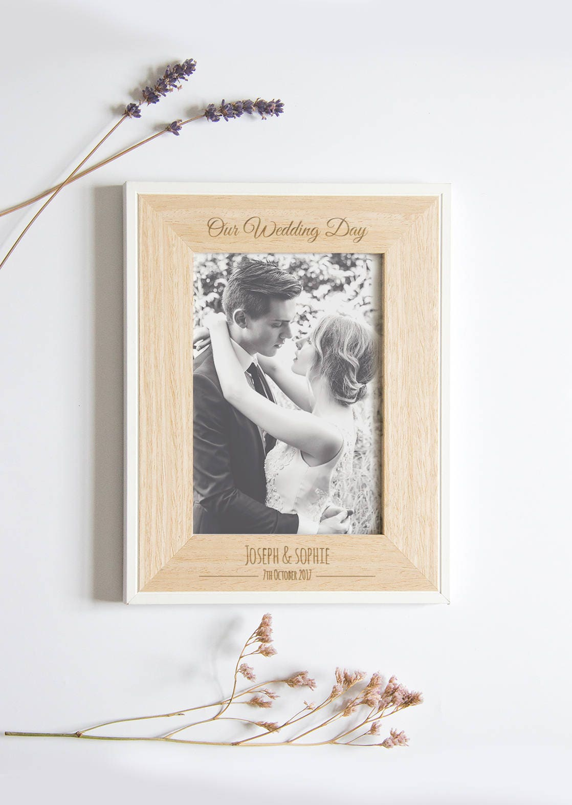 Personalisierte Bilderrahmen Hochzeit Hochzeits-Bilderrahmen