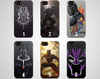 coque iphone 6 black panther marvel