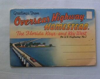 Vintage Postcard Booklet