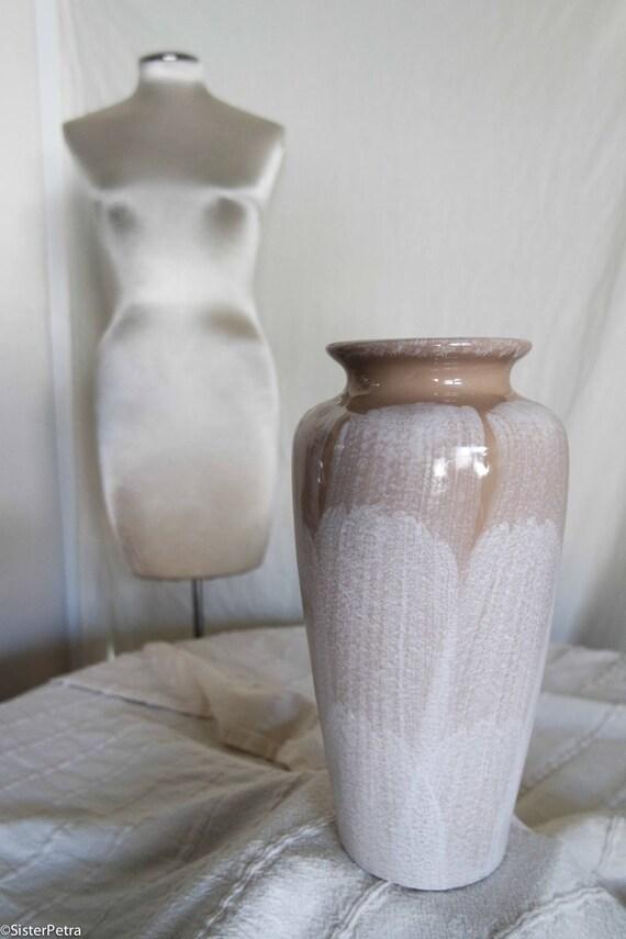 Taupe Brushed Vase