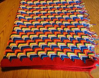 Apache Tears Crocheted Blanket