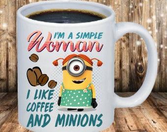 Minion Woman Coffee Mug
