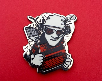 Hunter S. Thompson Pin