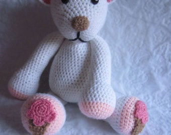 Crochet Pattern - Ice Cream Polar Bear