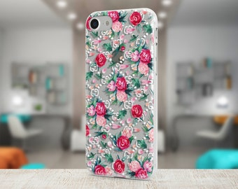 Gucci Flowers Peony case Colorful Galaxy case Google Pixel case Luxury Iphone 8 case Cute Pink cover Gifts Brand Gucci cover Iphone X case