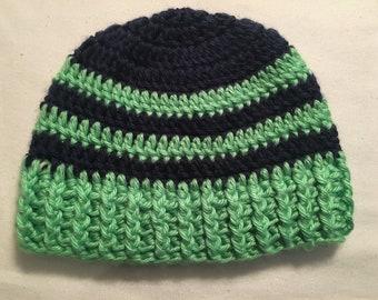 Handmade crochet beanie for child