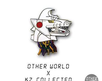 Mecha Godzilla Head pin