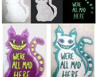 Cheshire Cat Patch - by Krisstaar