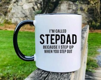 Stepdad - Mug - Stepdad Gift - Stepdad  Mug - Gifts For Stepdad