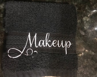 Embroidered Makeup Washcloth