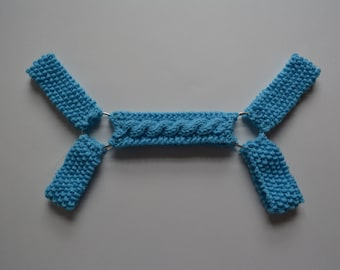 Light Blue Harness, Bulldog Harness, Gay Harness, The Code Remix Harness, Gay Pride Harness, The Hanky Code Harness