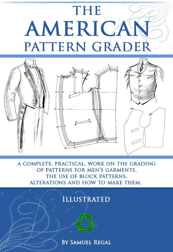 The AMERICAN PATTERN GRADER Design Your Own Mens Clothes Alterations ...