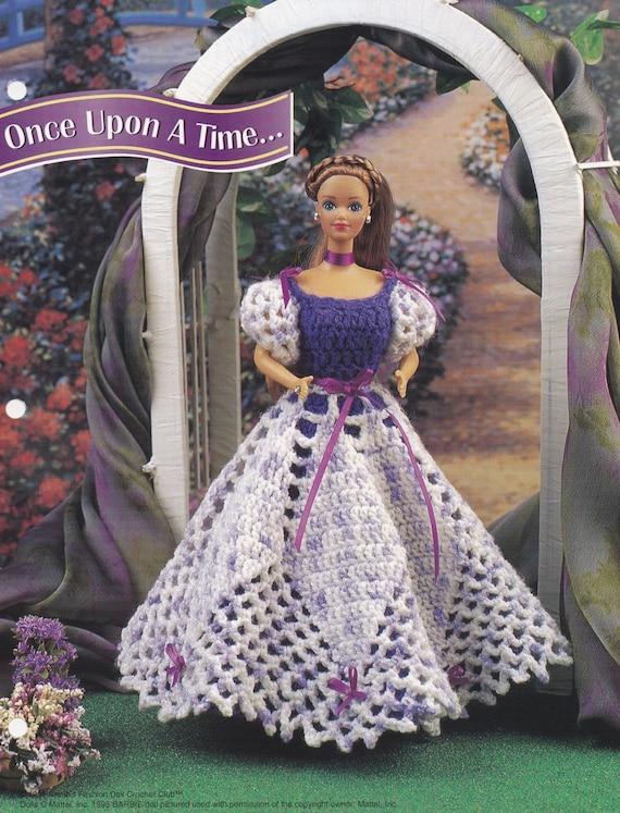 Es war einmal Annie Mode Puppe Kleidung häkeln Club Muster