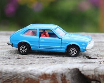 Tomy Tomica Blue #78 Honda Accord EX Made in Japan Pocket Car Diecast Scale 1:59