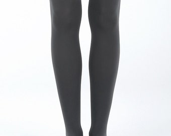 Cat tights, cats above knee, gift for cat lovers