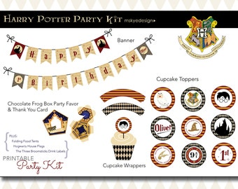 Harry Potter Birthday Party Kit {Printable}