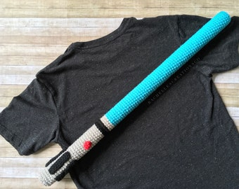 Crocheted Lightsaber
