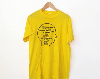 Vintage Lefties In Their Right Mind Tee
