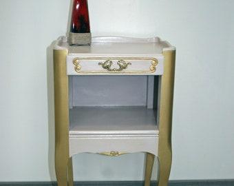 "Bedside table style ""Boudoir"""