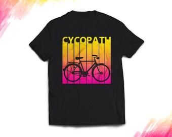 Bicycle tshirt, Bike tshirt, Cycling gift, cycling shirt, Bicycle Gift, Bike Gift, Bike Shirt, Bicycle Shirt, Cycopath, biking shirt #1406