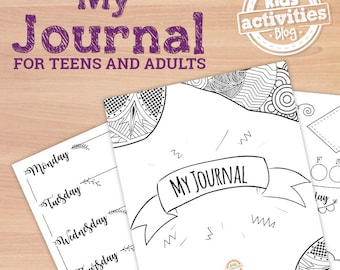 Printable Bullet Journal Pages for Teens and Adults