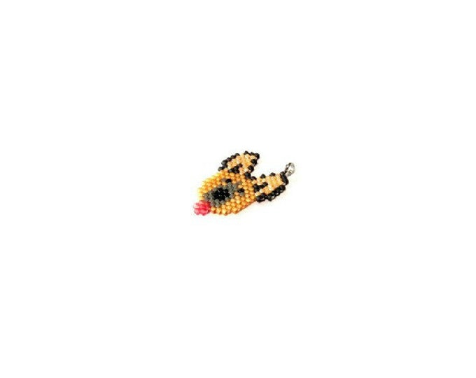 German Shepherd Brick Stitch Bead PATTERN | Printable Digital Download