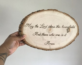 Mother's Day Wood Slice